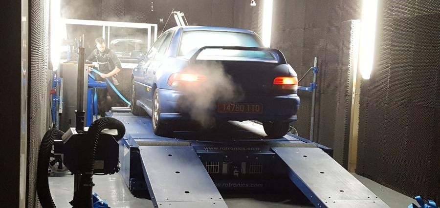 Eco Performance : passage au banc de puissance 4 roues ...